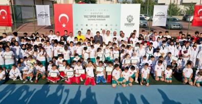 Karatay Yaz Spor Okullari'nin Kapanis Programi Gerçeklestirildi