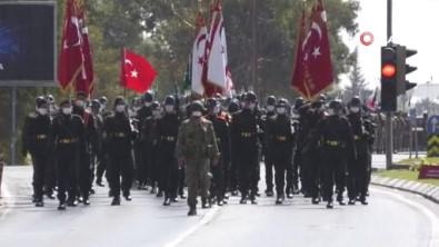 KKTC'de 30 Agustos Zaferi Bayrami Törenlerle Kutlandi