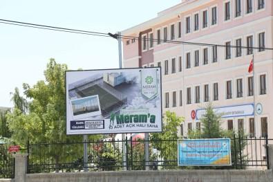 Meram'daki 10 Okula Hali Saha Kazandiriliyor