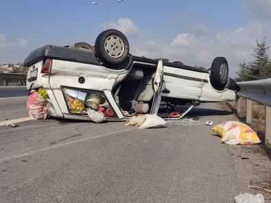 Otomobil TEM'de Takla Atti Açiklamasi 6 Yarali