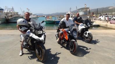 Türkiye'nin Güvenilir Bir Ülke Oldugunu Ispatlamak Için Almanya'dan Motosikletleri Ile Geldiler