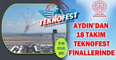 Aydin'dan 18 Takim TEKNOFEST Finallerine Katilacak