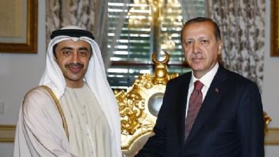 Başkan Erdoğan'dan BAE teması!