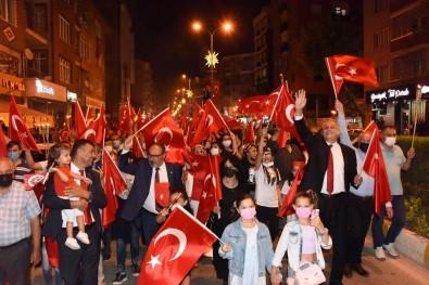 Bozüyük'te Zafer Bayrami Coskuyla Kutladi