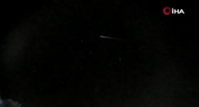 Brezilya'da Atmosfere Giren Meteor 12 Saniye Boyunca Kayit Altina Alindi