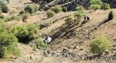 Elazig'da Otomobil 150 Metreden Asagi Yuvarlandi Açiklamasi 2 Yarali
