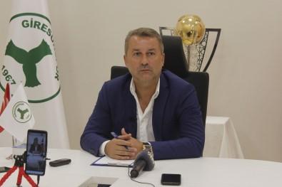 Giresunspor Kulüp Baskani Hakan Karaahmet Açiklamasi 'Biz Sonuna Kadar Devam Edecegiz, Mücadele Edecegiz'