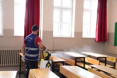 Kahramankazan'da Okullar Yüz Yüze Egitim Için Hazir Hale Getiriliyor
