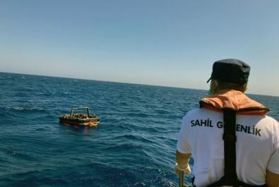 Marmaris'te 39 Göçmen Kurtarildi