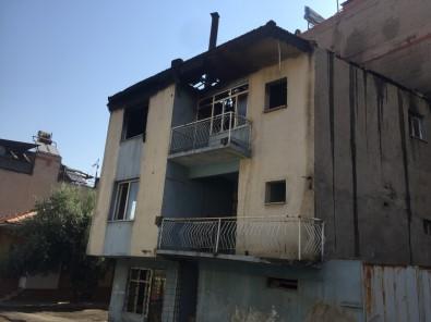 Metruk Binada Çikan Yangin Korkuttu