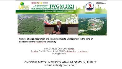 OMÜ'nün Çalismalari Ve Planlari Dünya Üniversiteleriyle Paylasildi