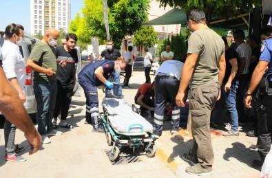 Pogaça Almaya Giden Genç Silahla Vurularak Yaralandi