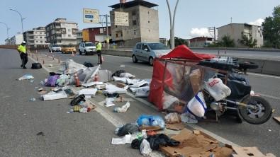 Samsun'da Otomobil Üç Tekerli Motosiklete Çarpti Açiklamasi 1 Yarali