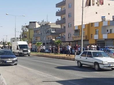 Sanliurfa'da Dehsete Düsüren Kavga Kamerada