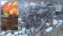 ARTVİN'DEKİ ORMAN YANGINI - Artvin'deki yangının hasarı gün doğunca ortaya çıktı!
