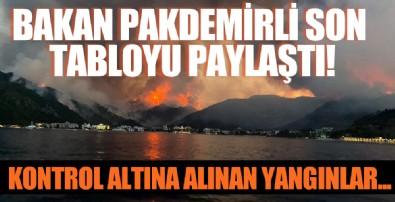 Bakan Pakdemirli son durumu paylaştı: 33 ilde 167 yangın kontrol altına alındı