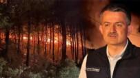 ORMAN YANGıNLARı - Bakan Pakdemirli yangınlarla ilgili son durumu açıkladı!