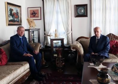 Başkan Erdoğan'dan MHP Genel Başkanı Devlet Bahçeli'ye sürpriz ziyaret