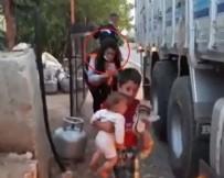 CHP YALANLARI - İşiniz gücünüz yalan, algı, sömürü! CHP'nin 'kardeşini taşıyan çocuk' videosu kurgu çıktı!