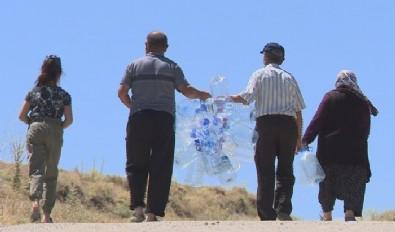 Nedir bu Ankaralıların Mansur Yavaş'tan çektiği! Barajın yanı başında su çilesi...