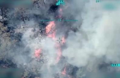 Yangınlara İHA desteği! 33 sorti, 462 saat uçuş
