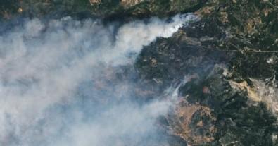 NASA'dan Türkiye paylaşımı! Yangın bölgesi uzaydan görüntülendi...
