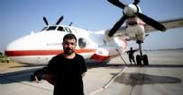 Oxford mezunu jet pilotu Fatih Düzgün Antalya Manavgat'taki yangını söndürmek için gönüllü oldu