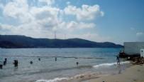 PLAJA ALINMAYAN TESETTÜRLÜ - Ünlü plajda skandal olay! Tesettürlüleri almadılar...