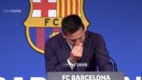Barcelona'dan ayrılan Lionel Messi ilk kez basının karşısında!