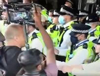 Koronavirüs aşısı karşıtlarından BBC binasına baskın!