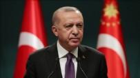 Başkan Erdoğan'dan şehit ailelerine başsağlığı!