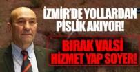 CHP'li İzmir belediyesinde yine skandal görüntüler! Vatandaşlara açık kanalizasyonu uygun gördüler