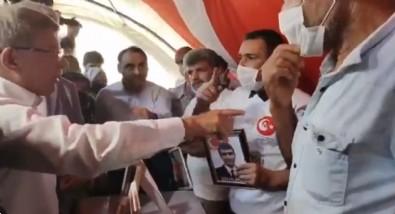 Ahmet Davutoğlu'na evlat nöbetindeki ailelerden HDP tepkisi!