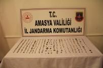 Amasya'da Kavanozdan Tarih Çikti Açiklamasi 312 Tarihi Eser Ele Geçirildi