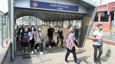 Topkapı-Mescidi Selam tramvay hattındaki bazı duraklara sefer yapılmaması tepki çekti