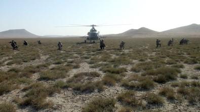 Azerbaycan'da 'Üç Kardes 2021' Tatbikati Hava Operasyonlariyla Devam Ediyor