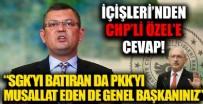 Burak Gültekin'den CHP'li Özgür Özel'e sert cevap: İftiralarınızla 1 Başbakan, 3 Bakan astınız doymadınız