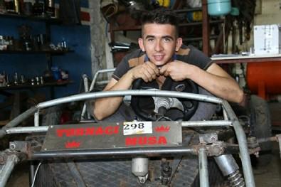 Üç yılda beş bin lira biriktirdi: Hayalini gerçekleştirerek kendi arabasını yaptı