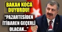 Sağlık Bakanı Fahrettin Koca'dan Bilim Kurulu Toplantısı sonrası önemli açıklamalar