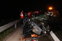 Kuzey Marmara Otoyolu'nda Feci Kaza Açiklamasi 1 Ölü, 3 Yarali