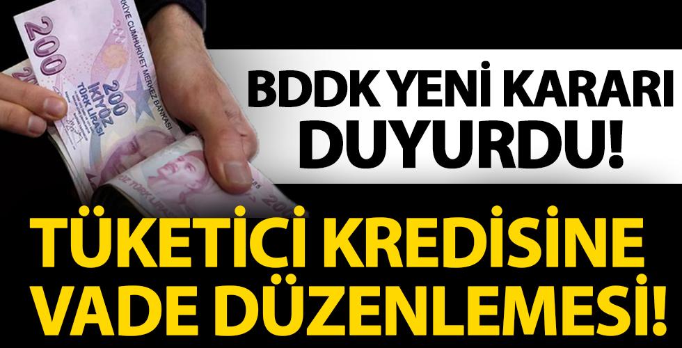 BDDK Yeni Kararı Duyurdu! Tüketici Kredisine Vade Düzenlemesi!