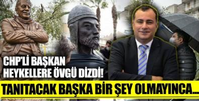CHP'li Çankaya Belediye Başkanı Alper Taşdelen'den heykellere övgü: Bir kente kimliğini kazandıran en önemli ögelerden biridir