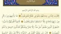 Enbiya Suresinin Anlamı Nedir? Enbiya Suresinin Faziletleri Nelerdir? Enbiya Suresi Arapça ve Türkçe Anlamı