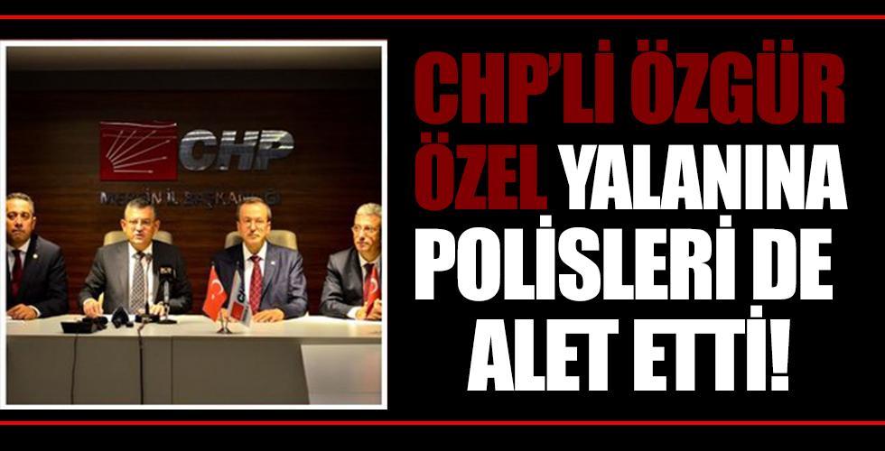 Mersin Valiliği'nden CHP'li Özgür Özel'in 'Erdoğan'ın ziyaretinde polislerin şarjörleri toplatıldı' iddiasına yalanlama!