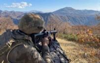 Barış Pınarı bölgesine saldırı girişiminde bulunan 7 terörist etkisiz hale getirildi