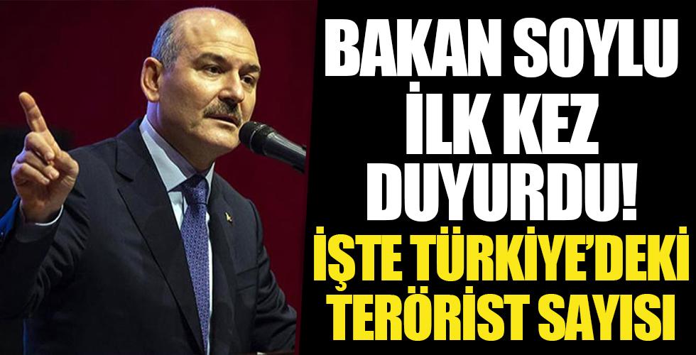 İçişleri Bakanı Süleyman Soylu: Türkiye'deki terörist sayısı ilk kez 200'ün altına düştü