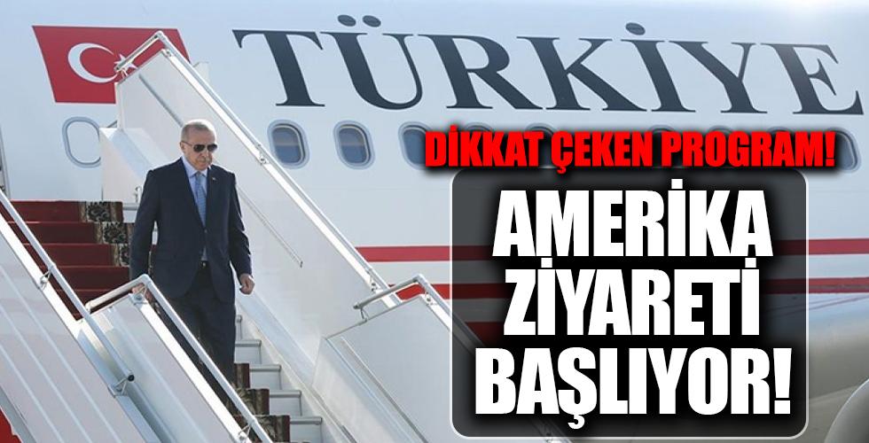 Cumhurbaşkanı Erdoğan, BM Genel Kurulu için ABD'ye gidiyor
