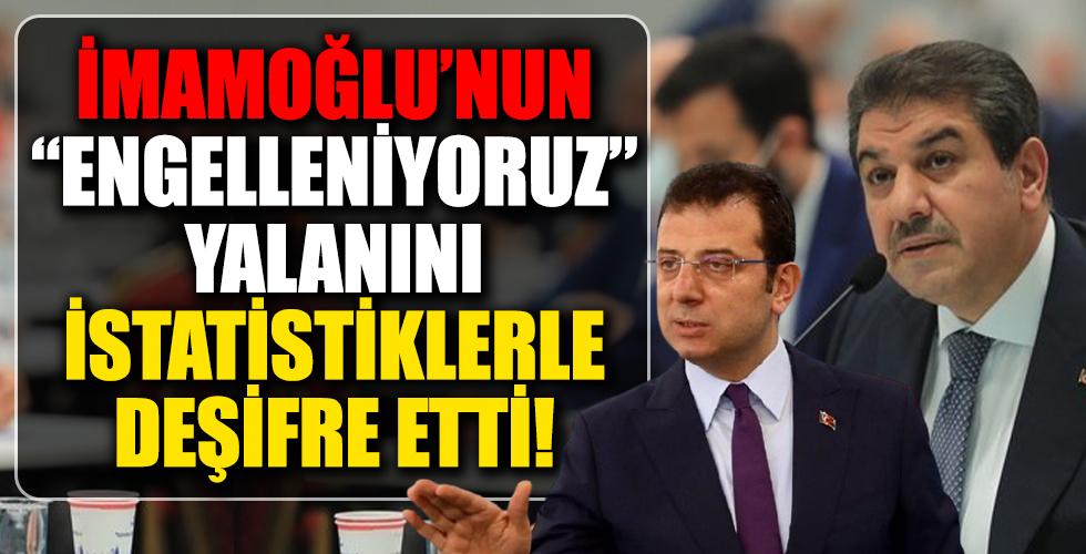"""Mehmet Tevfik Göksu, Ekrem İmamoğlu'nun """"Engelleniyoruz"""" yalanını deşifre etti"""