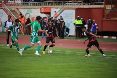 TFF 3. Lig Açiklamasi Gümüshanespor Açiklamasi 2 - Karbel Karaköprü Belediyespor Açiklamasi 0