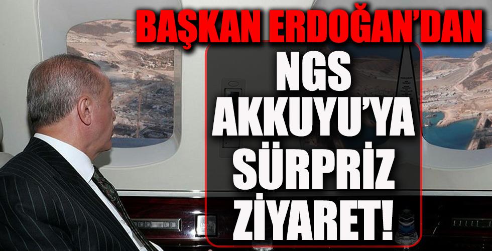 Başkan Erdoğan'dan NGS Akkuyu'ya sürpriz ziyaret! Türkiye'nin ilk nükleer santralinde çalışan Türk mühendislere moral!